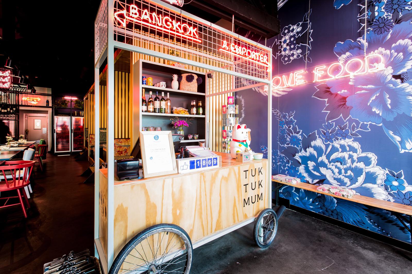 Tuktukmum Restaurant Thailandais Rennes